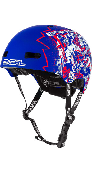 ONeal Dirt Lid ZF helm blauw/wit